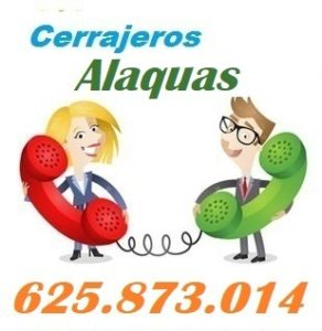 Telefono de la empresa cerrajeros Alaquas